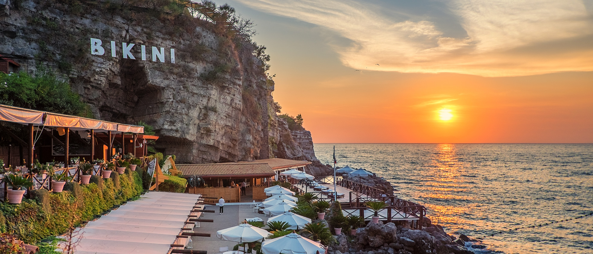 Il Bikini Vico Equense Beach Club Restaurant Events Wedding